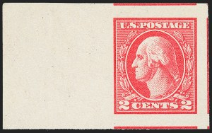 Sale Number 1227, Lot Number 3502, 1918-20 Offset Printing Issues (Scott 525-536)2c Carmine, Ty. V, Imperforate (533), 2c Carmine, Ty. V, Imperforate (533)