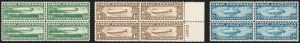 Sale Number 1227, Lot Number 3598, Air Post65c-$2.60 Graf Zeppelin (C13-C15), 65c-$2.60 Graf Zeppelin (C13-C15)