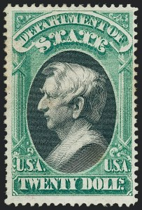 Sale Number 1227, Lot Number 3708, Officials$2.00, $20.00 State (O68, O71), $2.00, $20.00 State (O68, O71)