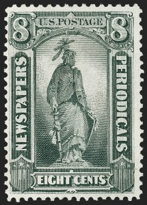 Sale Number 1227, Lot Number 3758, Newspapers and Periodicals (PR4-PR47)8c Gray Black, 1875 Special Printing (PR37), 8c Gray Black, 1875 Special Printing (PR37)