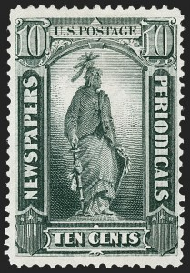 Sale Number 1227, Lot Number 3762, Newspapers and Periodicals (PR4-PR47)10c Gray Black, 1875 Special Printing (PR39), 10c Gray Black, 1875 Special Printing (PR39)