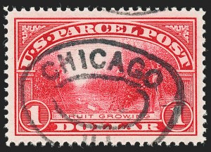 Sale Number 1227, Lot Number 3815, Parcel Post, Carriers & Locals, Postal Stationery$1.00 Parcel Post (Q12), $1.00 Parcel Post (Q12)