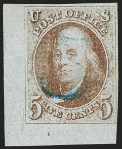 Sale Number 1228, Lot Number 114, Corner and Sheet Margin Examples,