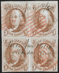 Sale Number 1228, Lot Number 95, Used Blocks and Multiples,