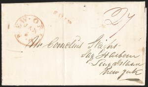 Sale Number 1230, Lot Number 1039, The Sandford N. Arnold Collection of Early Texas Postal History,