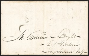 Sale Number 1230, Lot Number 1040, The Sandford N. Arnold Collection of Early Texas Postal History,