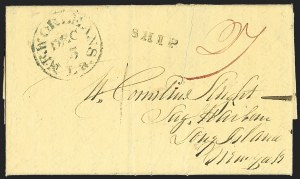 Sale Number 1230, Lot Number 1041, The Sandford N. Arnold Collection of Early Texas Postal History,