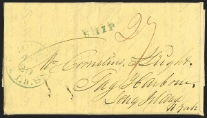 Sale Number 1230, Lot Number 1042, The Sandford N. Arnold Collection of Early Texas Postal History,
