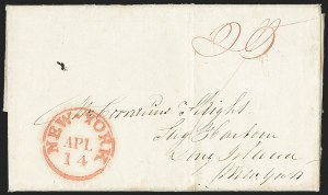 Sale Number 1230, Lot Number 1043, The Sandford N. Arnold Collection of Early Texas Postal History,