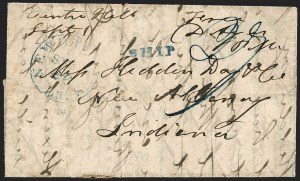 Sale Number 1230, Lot Number 1095, The Sandford N. Arnold Collection of Early Texas Postal History,