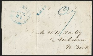 Sale Number 1230, Lot Number 1098, The Sandford N. Arnold Collection of Early Texas Postal History,