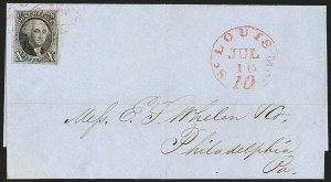 Sale Number 1230, Lot Number 1184, 1847 Issue Covers10c Black (2), 10c Black (2)