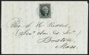 Sale Number 1230, Lot Number 1185, 1847 Issue Covers10c Black (2), 10c Black (2)