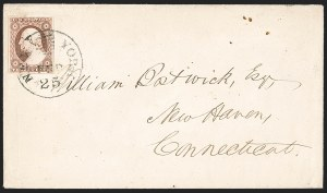 Sale Number 1230, Lot Number 1220, 1851-56 and 1857-60 Issues Covers3c Dull Red, Ty. II (11A), 3c Dull Red, Ty. II (11A)