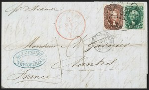 Sale Number 1230, Lot Number 1237, 1851-56 and 1857-60 Issues Covers5c Red Brown (12), 5c Red Brown (12)