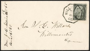 Sale Number 1230, Lot Number 1265, 1861-68 and 1869 Pictorial Issues Covers2c Black (73), 2c Black (73)