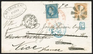 Sale Number 1230, Lot Number 1276, 1861-68 and 1869 Pictorial Issues Covers30c Orange, F. Grill (100), 30c Orange, F. Grill (100)