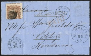 Sale Number 1230, Lot Number 1278, 1861-68 and 1869 Pictorial Issues Covers2c Brown (113), 2c Brown (113)