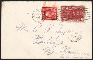 Sale Number 1230, Lot Number 1342, Bank Note and Later Issues Covers3c Parcel Post (Q3), 3c Parcel Post (Q3)