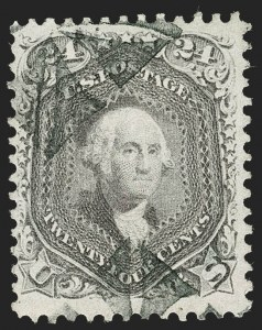Sale Number 1230, Lot Number 1794, 1861-66 Issue (Scott 56-78)24c Grayish Lilac (78a), 24c Grayish Lilac (78a)