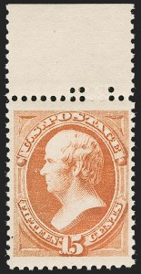 Sale Number 1230, Lot Number 1871, 1870-87 Bank Note Issue (Scott 134-218)15c Red Orange (189), 15c Red Orange (189)
