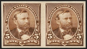 Sale Number 1230, Lot Number 1878, 1890-93 Issue (Scott 219-229)1c-5c 1890 Issue, Imperforate (219c-223b), 1c-5c 1890 Issue, Imperforate (219c-223b)