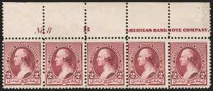 Sale Number 1230, Lot Number 1881, 1890-93 Issue (Scott 219-229)2c Lake (219D), 2c Lake (219D)
