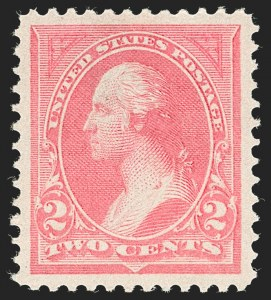 Sale Number 1230, Lot Number 1921, 1894-1903 Bureau Issues (Scott 246-284)2c Pink, Ty. I (248), 2c Pink, Ty. I (248)