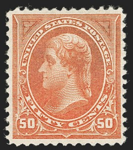Sale Number 1230, Lot Number 1923, 1894-1903 Bureau Issues (Scott 246-284)50c Orange (260), 50c Orange (260)