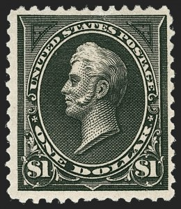 Sale Number 1230, Lot Number 1924, 1894-1903 Bureau Issues (Scott 246-284)$1.00 Black, Ty. II (261A), $1.00 Black, Ty. II (261A)