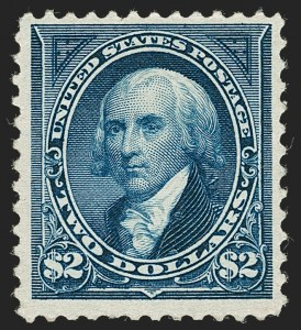 Sale Number 1230, Lot Number 1925, 1894-1903 Bureau Issues (Scott 246-284)$2.00 Bright Blue (262), $2.00 Bright Blue (262)