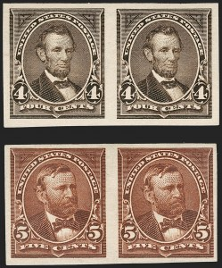 Sale Number 1230, Lot Number 1929, 1894-1903 Bureau Issues (Scott 246-284)4c-5c 1894 Issue, Imperforate (269a, 270a), 4c-5c 1894 Issue, Imperforate (269a, 270a)