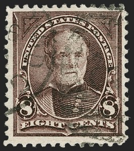 Sale Number 1230, Lot Number 1931, 1894-1903 Bureau Issues (Scott 246-284)8c Violet Brown, USIR Watermark (272a), 8c Violet Brown, USIR Watermark (272a)