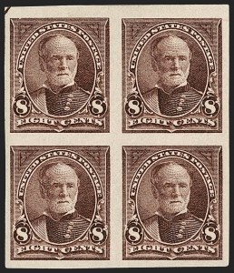 Sale Number 1230, Lot Number 1933, 1894-1903 Bureau Issues (Scott 246-284)8c Violet Brown, Imperforate (272b), 8c Violet Brown, Imperforate (272b)