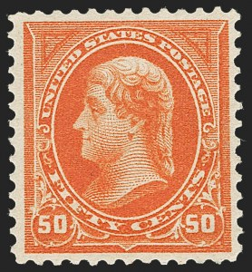 Sale Number 1230, Lot Number 1935, 1894-1903 Bureau Issues (Scott 246-284)50c Orange (275), 50c Orange (275)