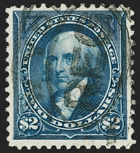 Sale Number 1230, Lot Number 1939, 1894-1903 Bureau Issues (Scott 246-284)$2.00 Bright Blue (277), $2.00 Bright Blue (277)