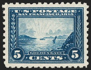 Sale Number 1230, Lot Number 1986, 1908-12, Panama-Pacific Issues5c Panama-Pacific, Perf 10 (403), 5c Panama-Pacific, Perf 10 (403)
