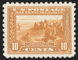 Sale Number 1230, Lot Number 1987, 1908-12, Panama-Pacific Issues10c Panama-Pacific, Perf 10 (404), 10c Panama-Pacific, Perf 10 (404)