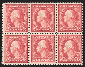 Sale Number 1230, Lot Number 2009, 1913-23 Issues (Scott 406-547)5c Carmine, Error (467), 5c Carmine, Error (467)