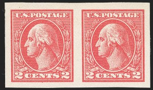 Sale Number 1230, Lot Number 2039, 1913-23 Issues (Scott 406-547)2c Carmine, Ty. VII, Imperforate (534B), 2c Carmine, Ty. VII, Imperforate (534B)