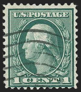 Sale Number 1230, Lot Number 2047, Washington-Franklin and early 20th Century Commeorative Issues1c Green, Rotary Perf 11 (544), 1c Green, Rotary Perf 11 (544)