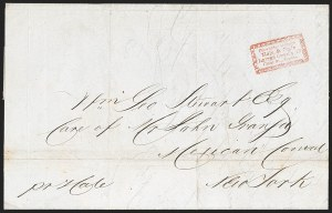 Sale Number 1230, Lot Number 510, Hale & Co.: Boston Mass.Forwarded Through/Hale & Co.'s/Letter Office 13/Court St. Boston, Forwarded Through/Hale & Co.'s/Letter Office 13/Court St. Boston