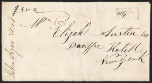 Sale Number 1230, Lot Number 513, Hale & Co.: Boston Mass.Forwarded by Hale & Co. from Boston, Forwarded by Hale & Co. from Boston