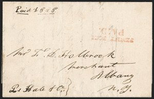 Sale Number 1230, Lot Number 521, Hale & Co.: Boston Mass.PENNY POST/PAID, PENNY POST/PAID