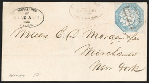Sale Number 1230, Lot Number 642, Hale & Co.: Massachusetts (Continued)Hale & Co., 5c Blue, Street Address Omitted (75L5), Hale & Co., 5c Blue, Street Address Omitted (75L5)