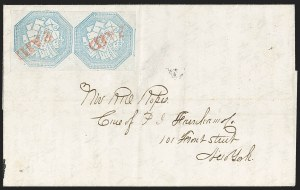 Sale Number 1230, Lot Number 643, Hale & Co.: Massachusetts (Continued)Hale & Co., 5c Blue (75L1), Hale & Co., 5c Blue (75L1)