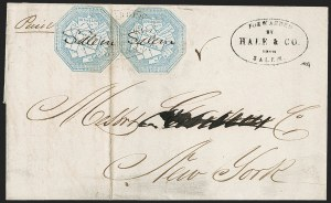 Sale Number 1230, Lot Number 648, Hale & Co.: Massachusetts (Continued)Hale & Co., 5c Blue, Street Address Omitted (75L5), Hale & Co., 5c Blue, Street Address Omitted (75L5)