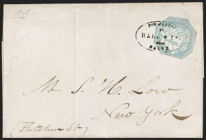 Sale Number 1230, Lot Number 651, Hale & Co.: Massachusetts (Continued)Hale & Co., 5c Blue, Street Address Omitted (75L5), Hale & Co., 5c Blue, Street Address Omitted (75L5)