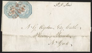 Sale Number 1230, Lot Number 652, Hale & Co.: Massachusetts (Continued)Hale & Co., 5c Blue, Street Address Omitted (75L5), Hale & Co., 5c Blue, Street Address Omitted (75L5)