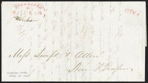 Sale Number 1230, Lot Number 663, Hale & Co.: Massachusetts (Continued)Forwarded by Hale & Co, Forwarded by Hale & Co